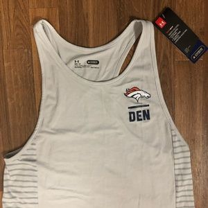 🏈 NWT Under Armour Denver Broncos NFL Tank Top M
